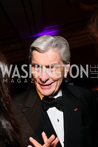 John Warner. Photo by Tony Powell. Atlantic Council 2010 Annual Awards Dinner. Ritz Carlton. April 28, 2010
