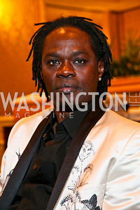 Senegalese singer and guitarist Baaba Maal. Photo by Tony Powell. Atlantic Council 2010 Annual Awards Dinner. Ritz Carlton. April 28, 2010