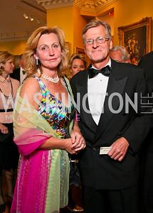 Eva Hafstrom, Swedish Ambassador Jonas Hafstrom. Photo by Tony Powell. Atlantic Council 2010 Annual Awards Dinner. Ritz Carlton. April 28, 2010