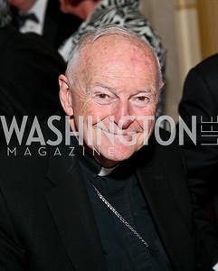 Cardinal Theodore McCarrick. Photo by Tony Powell. Atlantic Council 2010 Annual Awards Dinner. Ritz Carlton. April 28, 2010