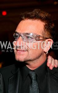 Bono. Photo by Tony Powell. Atlantic Council 2010 Annual Awards Dinner. Ritz Carlton. April 28, 2010