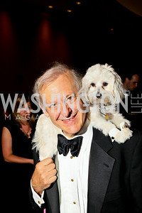 Photo by Tony Powell. The Washington Humane Society Bark Ball. Hilton Hotel. June 5, 2010. Rod Bell and Georgia