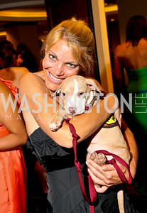 Photo by Tony Powell. The Washington Humane Society Bark Ball. Hilton Hotel. June 5, 2010. Wendy Gordon and Almond