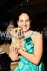 Photo by Tony Powell. The Washington Humane Society Bark Ball. Hilton Hotel. June 5, 2010. Andrea Ramezan and Divotz