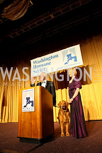 Photo by Tony Powell. The Washington Humane Society Bark Ball. Hilton Hotel. June 5, 2010. Ball Chairs Al Hunt and Judy Woodruff