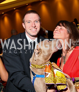Photo by Tony Powell. The Washington Humane Society Bark Ball. Hilton Hotel. June 5, 2010. Courtney Tate, Johanna Elsemore, and Lila