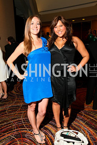 Photo by Tony Powell. The Washington Humane Society Bark Ball. Hilton Hotel. June 5, 2010. Liz Everett, Quin Woodward Pu