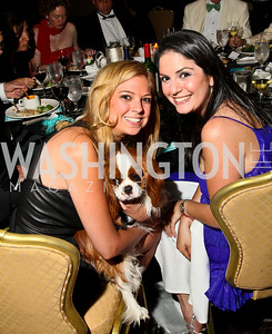 Photo by Tony Powell. The Washington Humane Society Bark Ball. Hilton Hotel. June 5, 2010. Anna VanMeter, Courtney Cohen