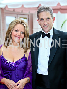 Photo by Tony Powell. Ford's Theatre Gala. June 6, 2010. Renée Fleming, Tim Jessell