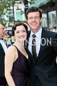Photo by Tony Powell. Ford's Theatre Gala. June 6, 2010. Mary Poppins stars Laura Michelle Kelly, Gavin Lee
