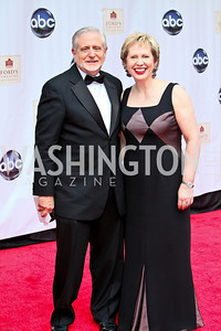 Photo by Tony Powell. Ford's Theatre Gala. June 6, 2010. Jim Gale, Lisa Barry