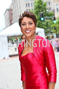 Photo by Tony Powell. Ford's Theatre Gala. June 6, 2010. Good Morning America co-host Robin Roberts