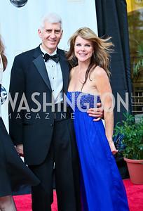 Photo by Tony Powell. Ford's Theatre Gala. June 6, 2010. Mark and Mary-Grethen Thomas