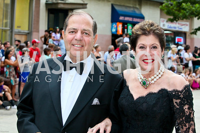 Photo by Tony Powell. Ford's Theatre Gala. June 6, 2010. Dick and Liz Dubin