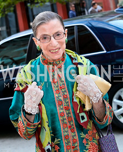 Photo by Tony Powell. Ford's Theatre Gala. June 6, 2010. Justice Ruth Bader-Ginsburg