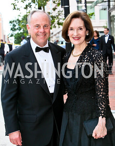 Photo by Tony Powell. Ford's Theatre Gala. June 6, 2010. Mack and Donna McLarty