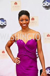 Photo by Tony Powell. Ford's Theatre Gala. June 6, 2010. Broadway star Montego Glover