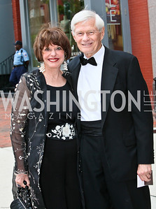 Photo by Tony Powell. Ford's Theatre Gala. June 6, 2010. Marlene and Fred Malek