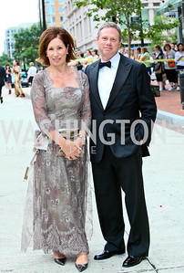 Photo by Tony Powell. Ford's Theatre Gala. June 6, 2010. Catherine and Wayne Reynolds