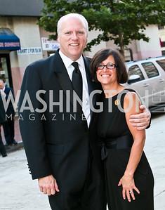 Photo by Tony Powell. Ford's Theatre Gala. June 6, 2010. Congressman Joe and Kasey Crowley