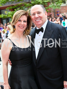 Photo by Tony Powell. Ford's Theatre Gala. June 6, 2010. Lea and Wayne Berman