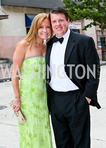 Photo by Tony Powell. Ford's Theatre Gala. June 6, 2010. Patrice and Scott Brickman,