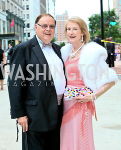 Photo by Tony Powell. Ford's Theatre Gala. June 6, 2010. Al Pierce, Lola Reinsch