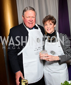 Congressman Norman Dicks and Suzie Dicks. Photo by Tony Powell. March of Dimes Gourmet Gala. Building Museum. April 14, 2010