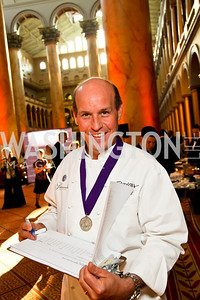 Chef Todd Gray. Photo by Tony Powell. March of Dimes Gourmet Gala. Building Museum. April 14, 2010