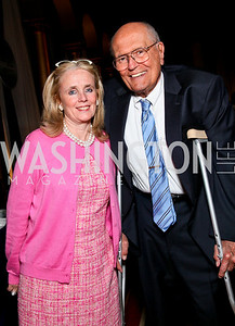 Debbie Dingell and Congressman John Dingell. Photo by Tony Powell. March of Dimes Gourmet Gala. Building Museum. April 14, 2010
