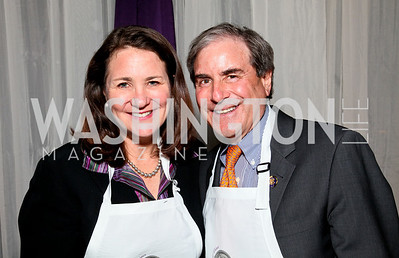Congresswoman Diana DeGette, Congressman John Yarmuth. Photo by Tony Powell. March of Dimes Gourmet Gala. Building Museum. April 14, 2010