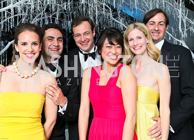 Photo by Tony Powell. The 2010 Opera Ball. Russian Federation. May 21, 2010. Julia Ehrgood, Bob Ghafouri, Luca Tortorelli, Grace Ko, Suzanne Adler, Alan Adler