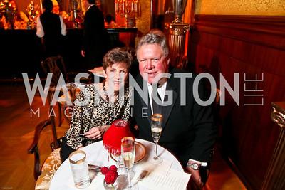 Photo by Tony Powell. The 2010 Opera Ball. Russian Federation. May 21, 2010. Suzie Dicks, Congressman Norm Dicks