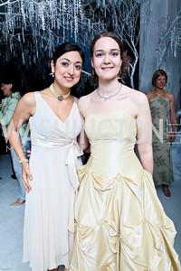 Photo by Tony Powell. The 2010 Opera Ball. Russian Federation. May 21, 2010. Anja Tuerkan, Silke Zoller