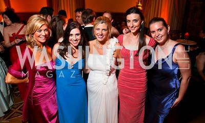 Photo by Tony Powell. The 2010 Opera Ball. Russian Federation. May 21, 2010. Laurie Luhn, Tara Palmeri, Allison Priebe Brooks, Kate Michael, Nikki Schwab