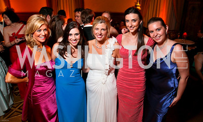 Photo by Tony Powell. The 2010 Opera Ball. Russian Federation. May 21, 2010. Laurie Luhn, Tara Palmeri, Allison Priebe Brooks, Kate Michael, Nikki Schwab