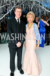 Photo by Tony Powell. The 2010 Opera Ball. Russian Federation. May 21, 2010. Mark and Ina Ginsburg