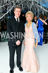 Photo by Tony Powell. The 2010 Opera Ball. Russian Federation. May 21, 2010. Mark and Ina Ginsburg