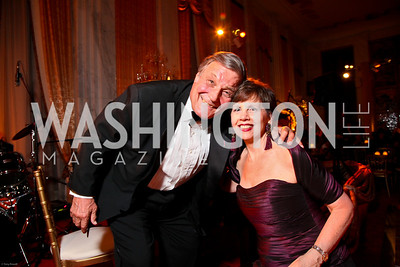 Photo by Tony Powell. The 2010 Opera Ball. Russian Federation. May 21, 2010. Peter Duchin, Adrienne Arsht