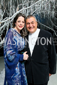Photo by Tony Powell. The 2010 Opera Ball. Russian Federation. May 21, 2010. Heather and Tony Podesta