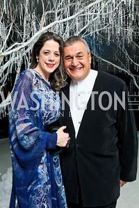 Photo by Tony Powell. The 2010 Opera Ball. Russian Federation. May 21, 2010. Heather and Tony Podesta