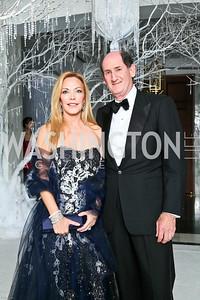 Photo by Tony Powell. The 2010 Opera Ball. Russian Federation. May 21, 2010. Susan and Samuel Lehrman