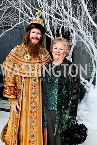 Photo by Tony Powell. The 2010 Opera Ball. Russian Federation. May 21, 2010. Jacqueline Badger Mars