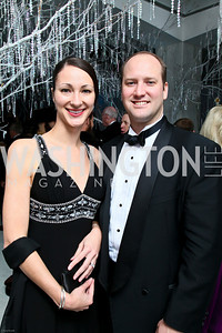 Photo by Tony Powell. The 2010 Opera Ball. Russian Federation. May 21, 2010. Melissa and Ryan West