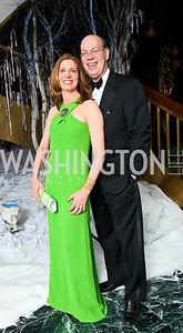 Photo by Tony Powell. The 2010 Opera Ball. Russian Federation. May 21, 2010. Susan Ascher, Paul Kalb