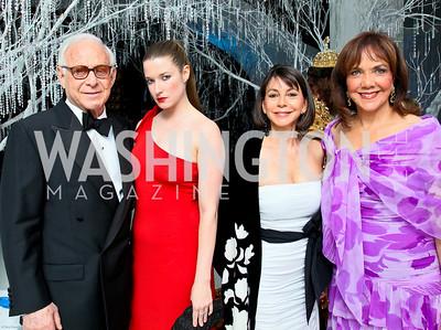 Photo by Tony Powell. The 2010 Opera Ball. Russian Federation. May 21, 2010. John Mason, Nicole Lombardi, JoAnn Mason, Barbara Harrison