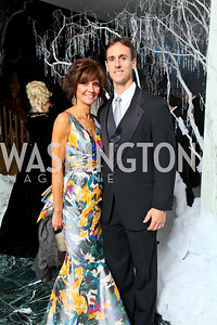 Photo by Tony Powell. The 2010 Opera Ball. Russian Federation. May 21, 2010. Capricia and Rob Marshall