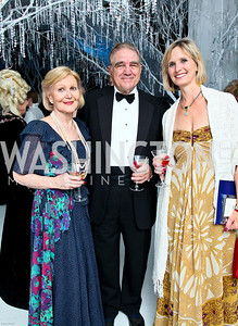 Photo by Tony Powell. The 2010 Opera Ball. Russian Federation. May 21, 2010. Evelyn and Charles DiBona, Peggo Hodes