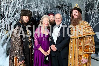 Photo by Tony Powell. The 2010 Opera Ball. Russian Federation. May 21, 2010. Nina and Philip Pillsbury