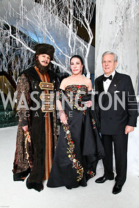 Photo by Tony Powell. The 2010 Opera Ball. Russian Federation. May 21, 2010. Isobel and Marvin Slomowitz
